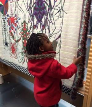 Uitstapje textiel museum